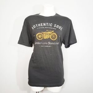 Banana Republic Vintage Motorcycles Shirt